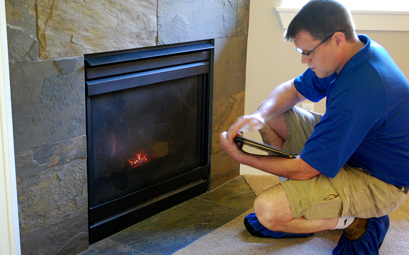Home Fireplace Inspection